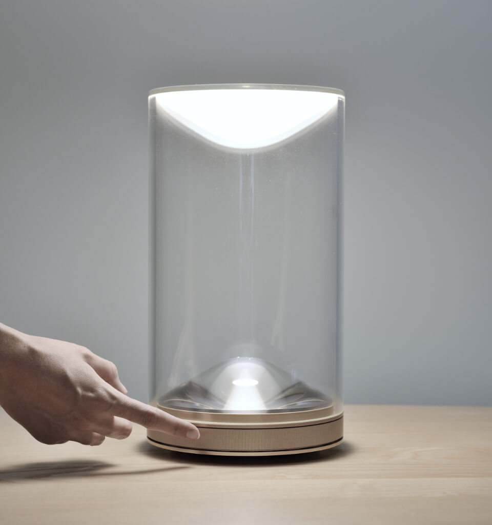 Tabletop Lumina Eva indirect up-light